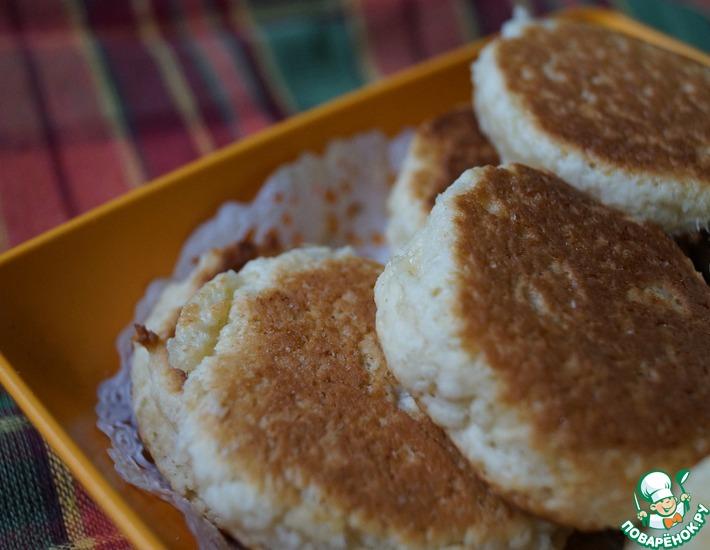 Сметанное печенье на сковороде