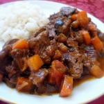 """Рагу с рисом и мясными """"пальчиками"""" – кулинарный рецепт"""