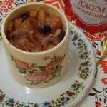 Крем-карамель из геркулеса