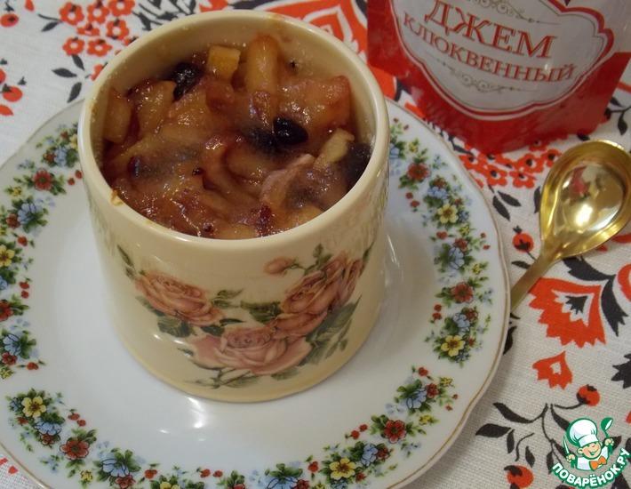 Рецепт: Крем-карамель из геркулеса