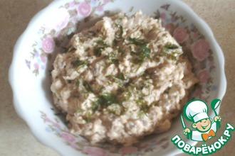 Рецепт: Салат-намазка а-ля Мимоза