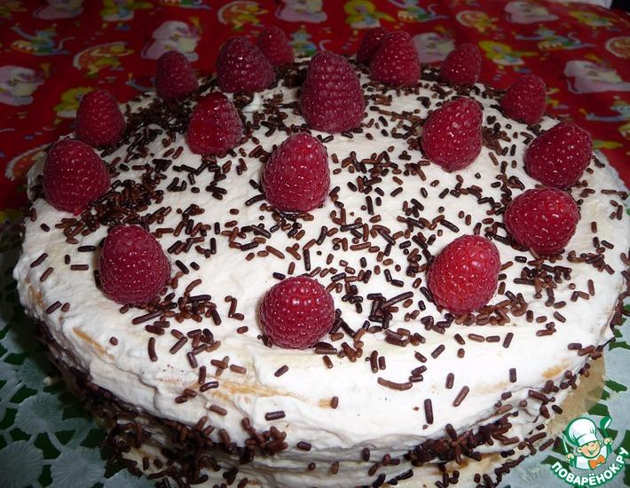 Рецепт: Торт Нежный с безе