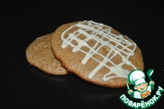 Рецепт: Овсяное печенье без масла
