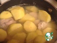 Белый суп из курицы в сметане ингредиенты