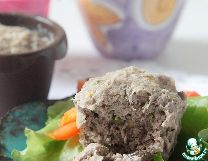 Рецепт: Весеннее мясное суфле