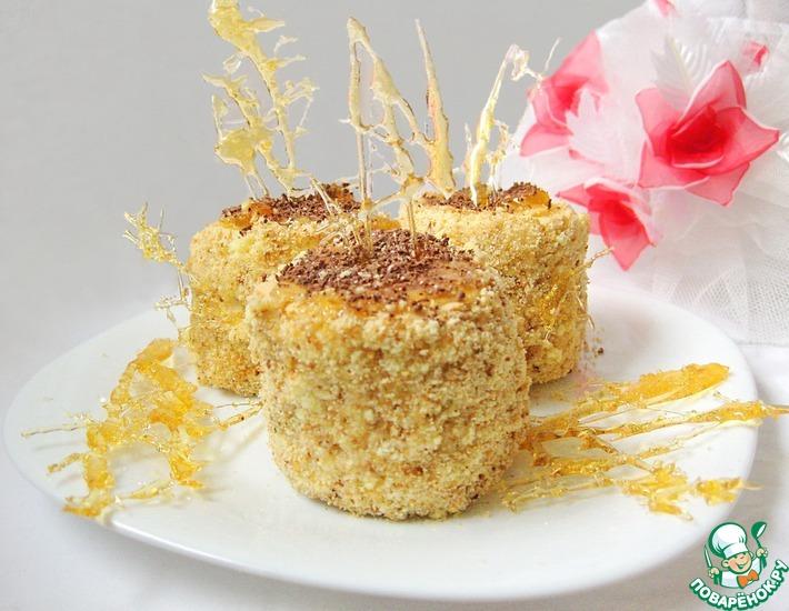 Рецепт: Янтарные пирожные