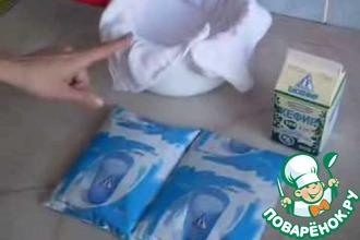 Рецепт: Домашний творог без кипячения для малышей