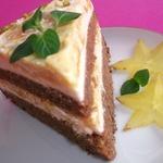 Пряничный мангово-йогуртовый торт