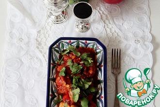 Рецепт: Рагу с овощами и курицей карри