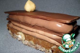 Рецепт: Пирожное Сладкое удовольствие