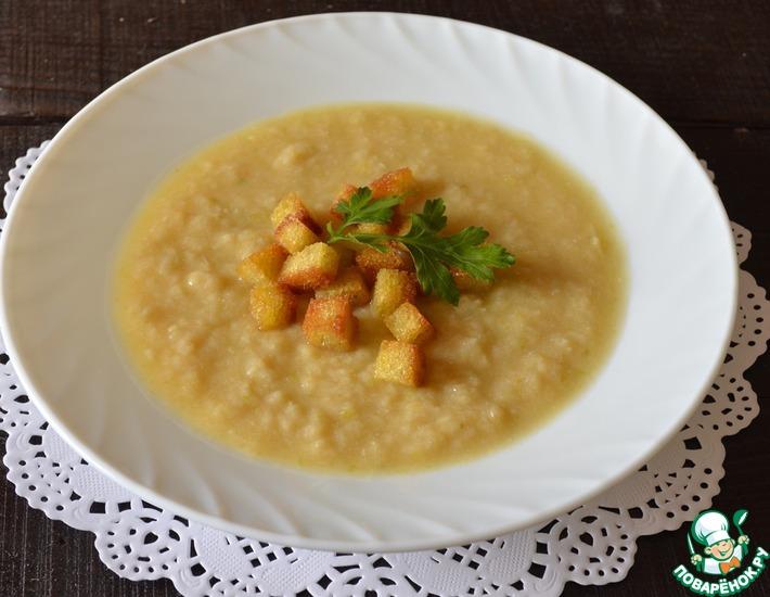 Рецепт: Суп-пюре из сельдерея Диетический