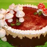 Торт-безе Солнечный пенек
