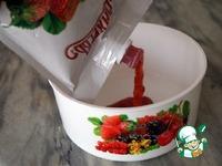Творожный десерт с клубничным джемом ингредиенты