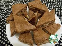 Шоколадное печенье с творожной начинкой ингредиенты
