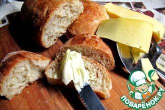Рецепт: Хлеб без замеса Лентяй