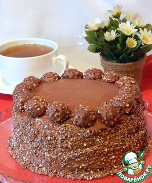 торт фереро рошен рецепт с фото