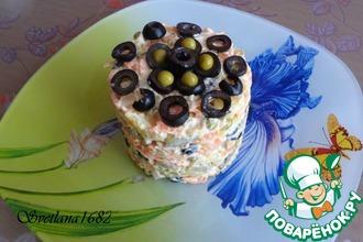 Рецепт: Салат Овощная феерия