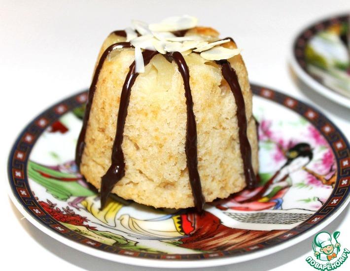 Рецепт: Кокосово-ананасовые маффины в мультиварке