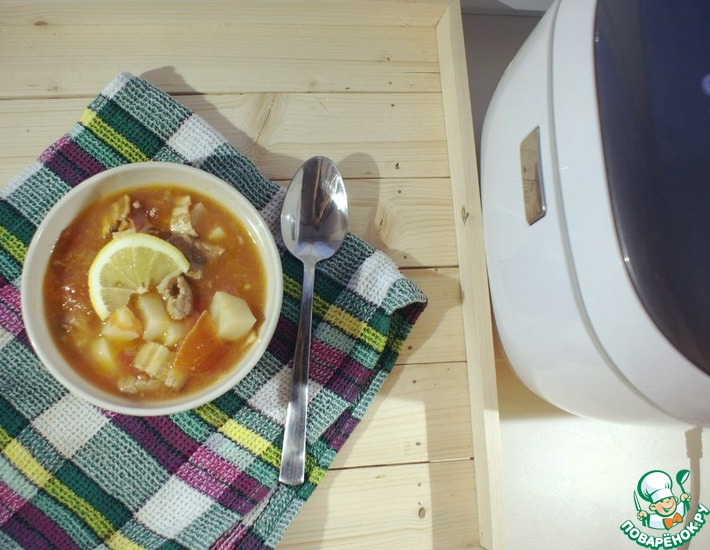 Рецепт: Австрийский суп-гуляш