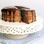 Шоколадный пирог с джемом