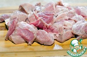 Рагу из свинины со шпинатом в мультиварке – кулинарный рецепт