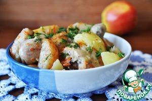 Chicken in Armenian