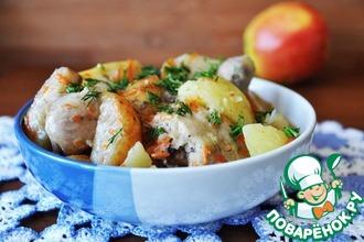 Рецепт: Курица по-армянски