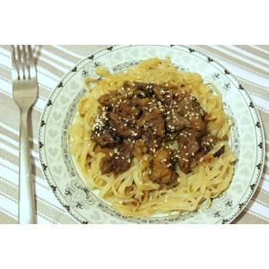 А-ля стир-фрай из телятины