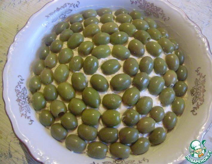Рецепт: Салат Мой с оливками