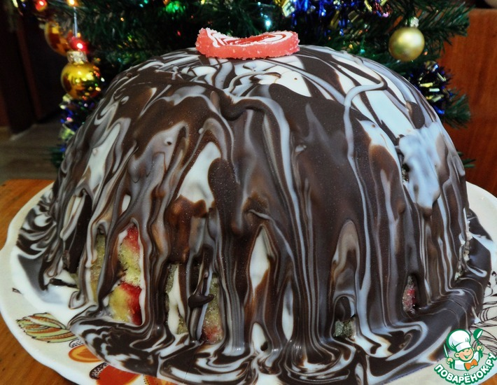 Рецепт: Торт Зимняя бомба от Джейми Оливера