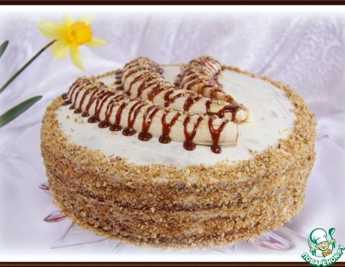 кулинария торты рецепты поваренок нежно банановый торт