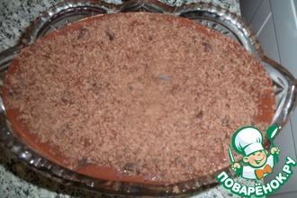 Рецепт: Чернослив с орешками в шоколаде с ромом