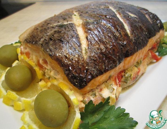 Рецепт: Рыбный ларец