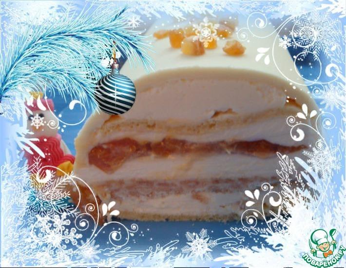 Рецепт: Рождественское полено «В»