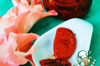 Рецепт: Вяленые помидоры