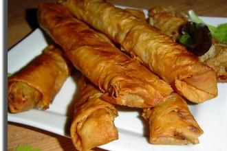 Рецепт: Горячая закуска из лаваша