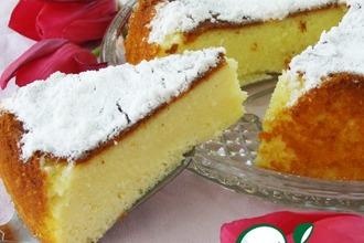 Рецепт: Творожно-манный пирог в мультиварке