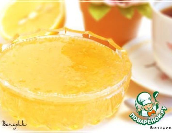 Рецепт: Лимонное варенье
