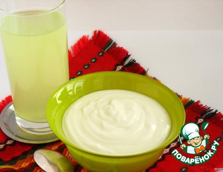 Рецепт: Йогурт греческий