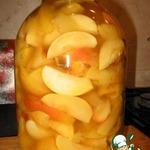Яблоки дольками в сиропе