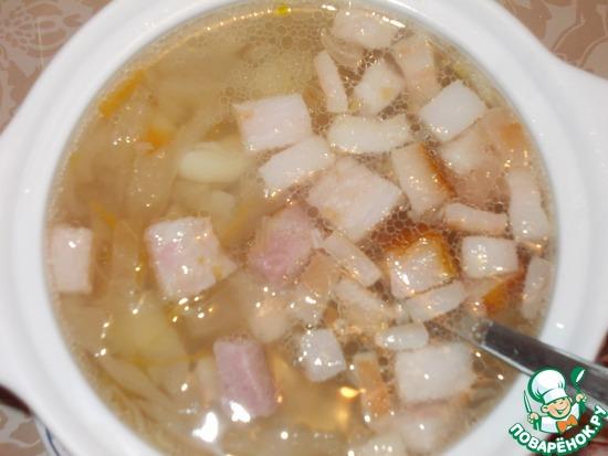 картофельный суп-австрийский