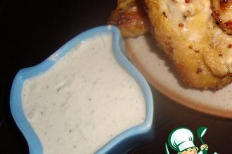 Рецепт: Белый соус с огурцом