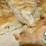 Пирог из лаваша Ленивый хычин