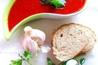Рецепт: Острый томатно-чесночный соус