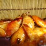 Перепела в соево-медовом маринаде с тимьяном