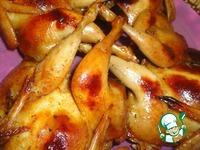 Перепела в соево-медовом маринаде с тимьяном ингредиенты