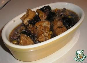 Pork with prunes