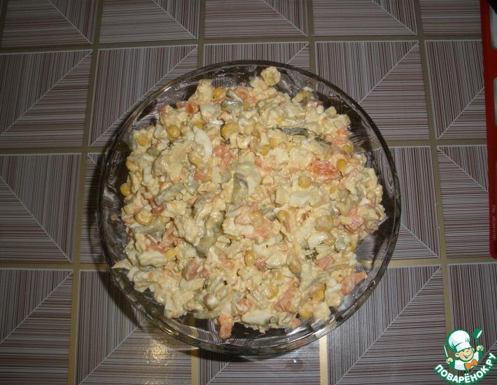 Рецепт: Салат Кура-кукура