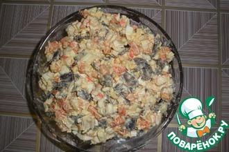 Рецепт: Салат Торжество