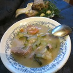 Томленый суп по-деревенски